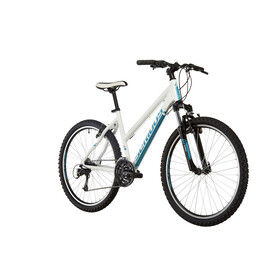 "Serious Eight Ball - VTT - 26"" blanc/Bleu pétrole"